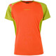 La Sportiva Apex S Shortsleeve Shirt Men green/orange